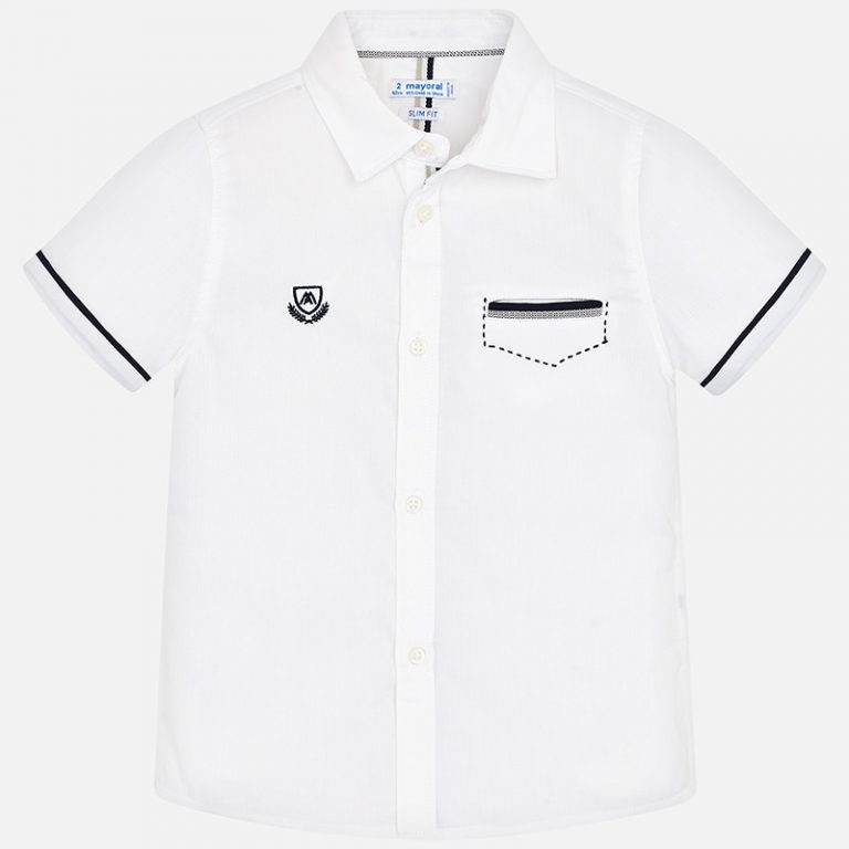 Polo White 3163 Sizes 2 - 9 Years Price 11.55BD