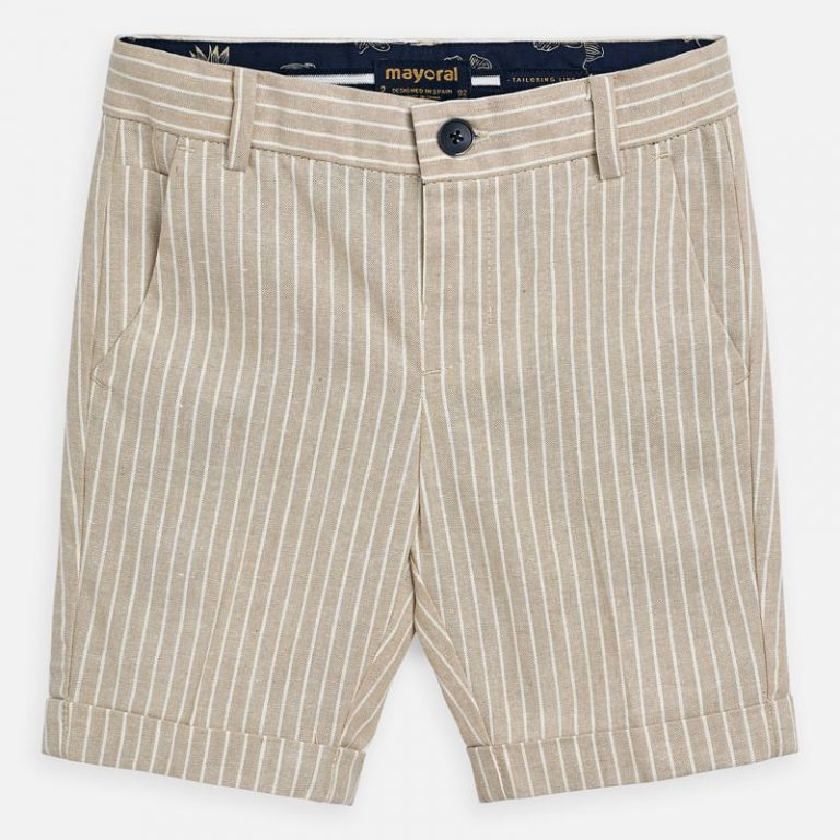 Beige Short 3253 Sizes 2 - 9 Years Price 14.9Bd