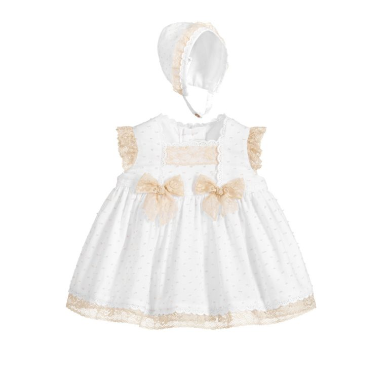 Dress 272029VBG Size 1,3,6,9,12,18,24 Months Price 22.7Bd.
