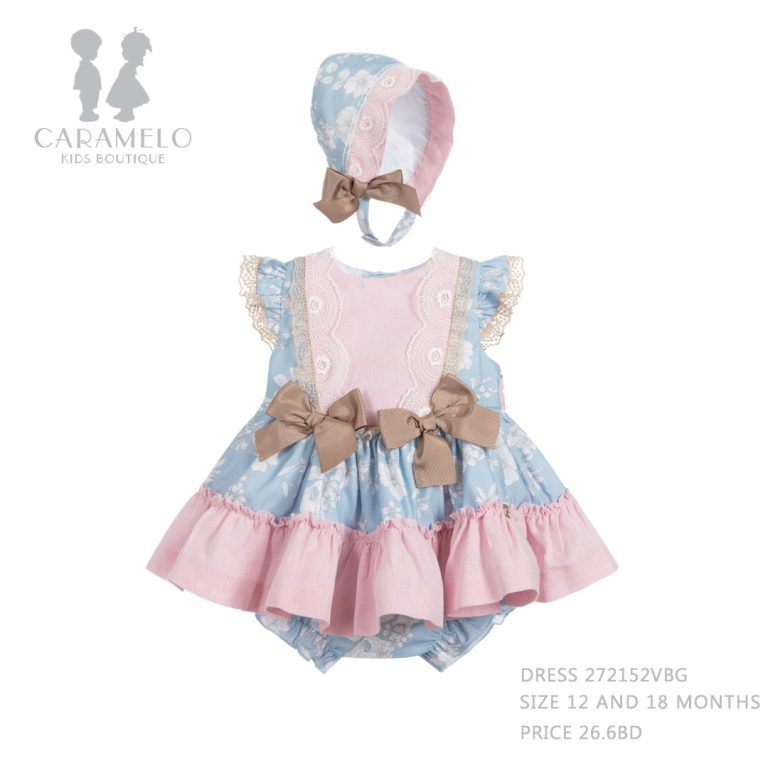 Dress 272152VBG Size 12 And 18M Price 26.6