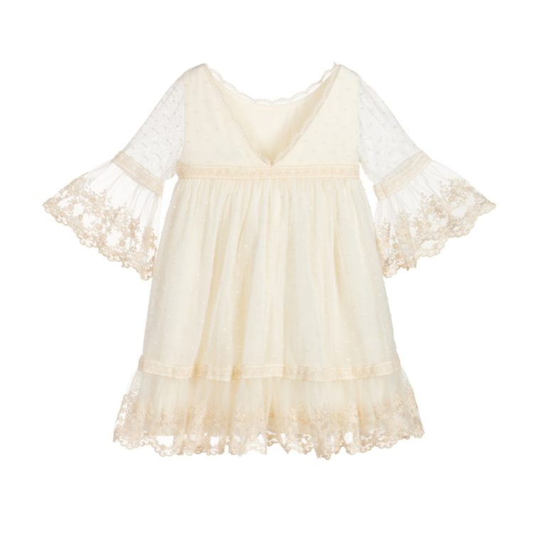 Dress 5019 Size 4 - 12 Years Price 49.6 Back