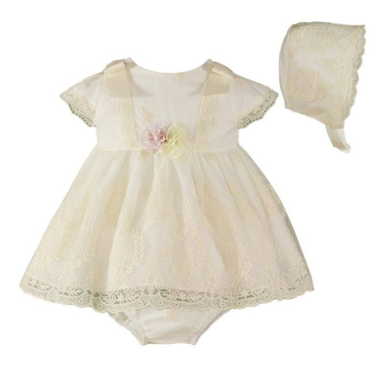 Dress Baby 270020VBG Size 1,3,6,9,12,18,24 Months Price 32.4BD