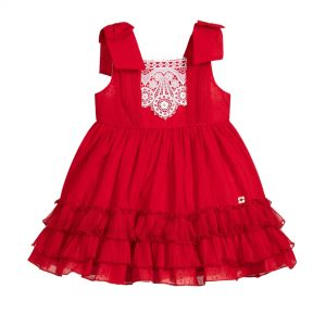 Dress 272215V Size 2 To 12Yrs Price: BHD 25.400